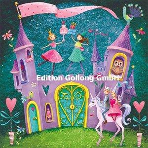 Mila Marquis Postcard | Fairytale castle with unicorn