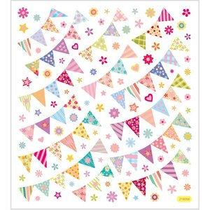 Seal Sticker with Glitter Foil | Birthday Banners