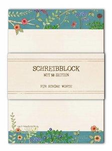 A5 Letter Paper Pad TikiOno   Blumenwiese