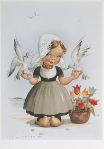 Postcard | Jan Lavies (1902-2005) - Jan Lavies/Zeeland, Holland