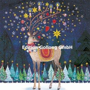 Mila Marquis Postcard Christmas | Deer