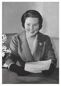 Postcard | H.K.H. Prinses Beatrix, ca. 1959