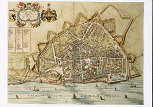 Postcard | Plattegrond van Nijmegen