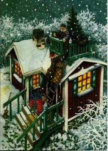 Inge Look Nr. 59 Postcard | Old Ladies Aunties
