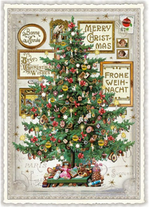Postcard Edition Tausendschoen Christmas | Merry Christmas - Tree