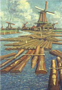 Museum Cards Postcard | De Balkenhaven bij molen De Liefde