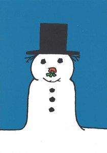 Nijntje Miffy Postcards | Sneeuwpop