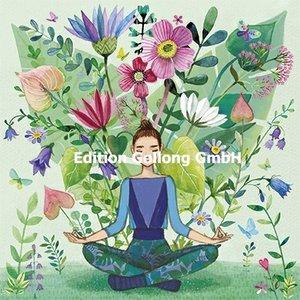 Mila Marquis Postcard | Woman doing yoga