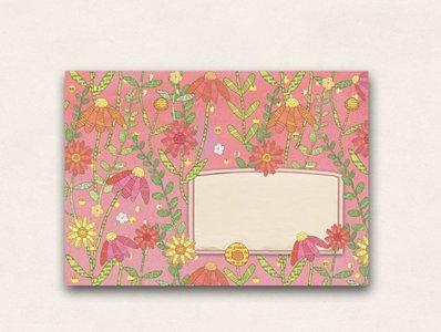 10 x Envelope TikiOno   Summer Meadow