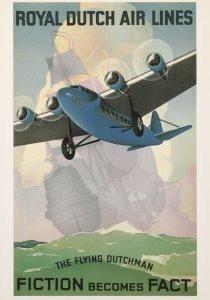 Postcard | Royal Dutch Air Lines