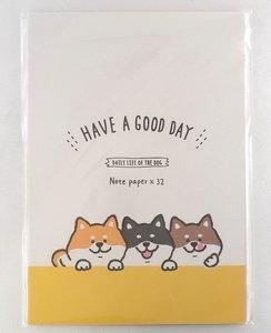 Briefpapier-Mix | Shiba Inu dog