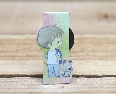 Amy and Tim Collection Magnetic Bookmark