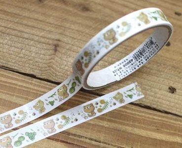 Honey Bear Medium Adhesive PVC Deco Tape   Succulents