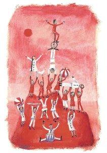 Gallery Cards Postcard | Marit Törnqvist - Eiland van samen sterk