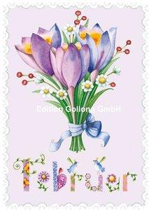 Nina Chen Postkarte | Februar