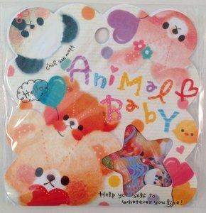 Sticker Flakes Sack Q-Lia | Animal Baby