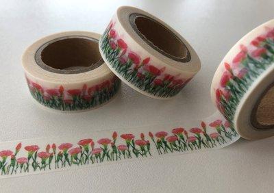 Washi Masking Tape | Carnations