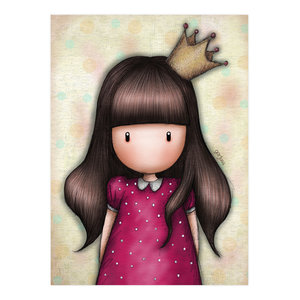 Santoro Gorjuss Portrait Of A Princess Greeting Card