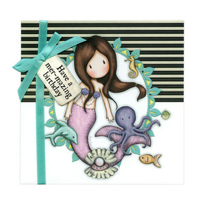 Gorjuss Greetings Card Have A Mer-Mazing Birthday