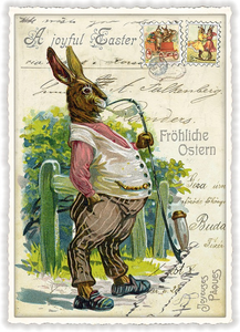 Postcard Edition Tausendschoen | Mr. Easter