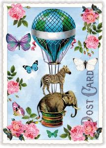 Postcard Edition Tausendschoen   Ballonfantasie