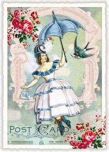 Postcard Edition Tausendschoen | Fliegende Fee