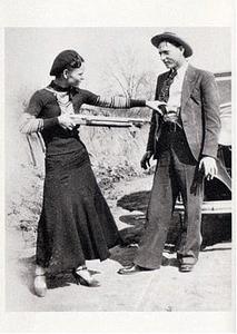 Postcard | Bonnie Parker & Clyde Barrow