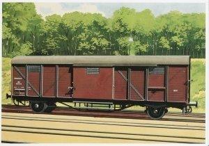 Postcard | Charles Burki - Gesloten Wagen