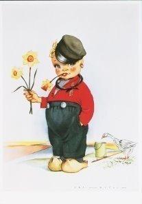 Postcard | Jan Lavies (1902-2005) - Volendam, Holland