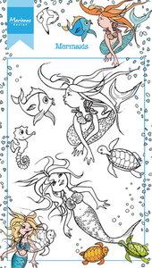 Marianne Design Clear Stamp | Mermaid