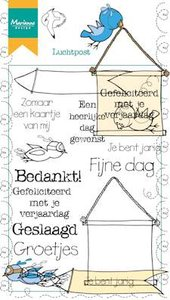 Marianne Design Clear Stamp | Luchtpost