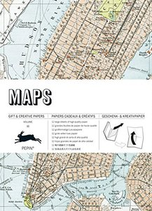 Pepin Press - Gift and Creative Paper Book | Maps