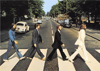 Postcard | The Beatles - Abbey Road 1969