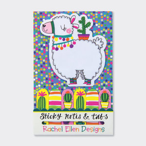 Rachel Ellen Designs Sticky Notes & Tabs - Llama