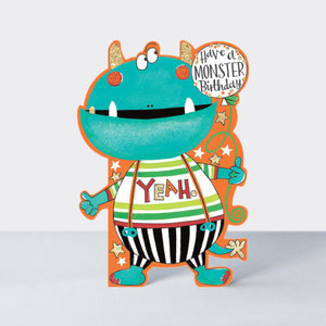 Rachel Ellen Designs Cards - Little Darlings - Monster Birthday