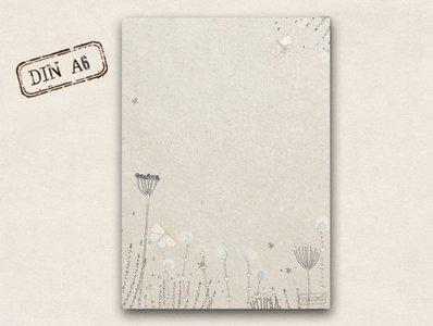 Memopad TikiOno | Delicate flowers