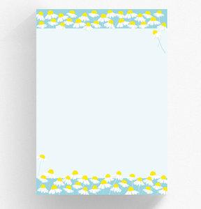 A4 Briefpapierblok crissXcross | Kamille