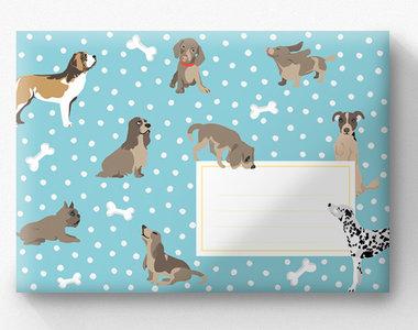 Envelop Set C6 - Honden (crissXcross)