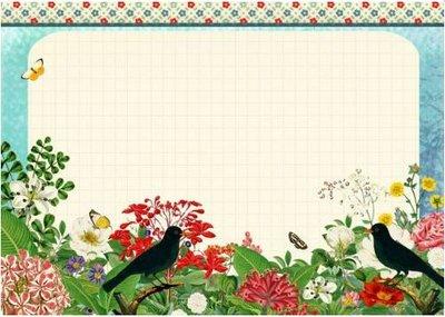 A5 Blocnote Gwenaëlle Trolez Créations - Fleurs