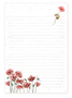 Mouse and Poppy Jotter Pad - Wrendale Designs