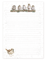 Chirpy Chaps Jotter Pad - Wrendale Designs