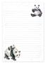 Panda Jotter Pad - Wrendale Designs
