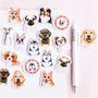 Sticker Flakes Box | Wang Dogs