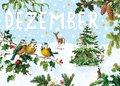 Carola Pabst Postcard | Dezember (Vintage)