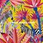 Mila Marquis Postcard   Zebras