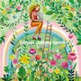 Mila Marquis Postcard | Woman on a rainbow