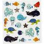 Seal Sticker with Silver Foil | Sea Animals