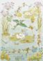 Postcard Molly Brett | Fairies and Waterlilies