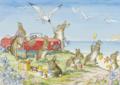 Postcard Molly Brett | 'A Day by the Sea'