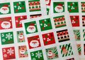 Sealing Stamp Stickers X-mas | Christmas Stamps